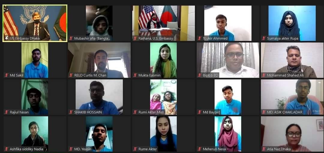 যুক্তরাষ্ট্রের ইংলিশ একসেস প্রোগ্রামে ৪০ বাংলাদেশি শিক্ষার্থী