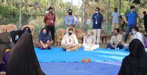 প্রভাবশালী তিন দেশের রাষ্ট্রদূতের রোহিঙ্গা শিবির সফর
