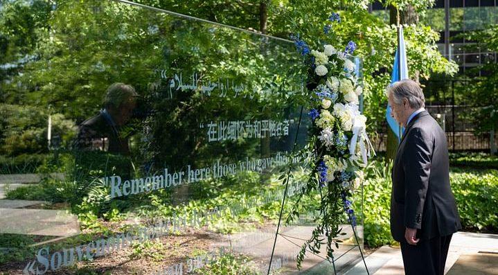 ৮ বাংলাদেশি সেনাকে 'দ্যাগ হ্যামারশোল্ড মেডেল' প্রদান করেছে জাতিসংঘ